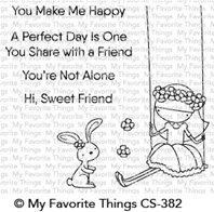 Clear Stamps - Sweet Friends