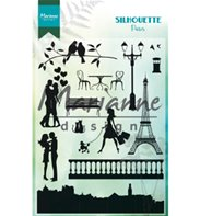Clear Stamp - Silhouette - Paris