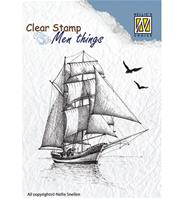 Clear stamp - Salingboat