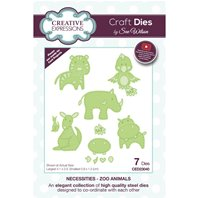 Craft Dies - Zoo animals