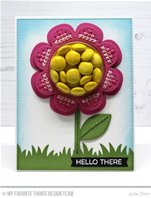 Die-namics - Cross Stitch Flower Frame