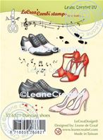 Clear stamp - Dancing shoes