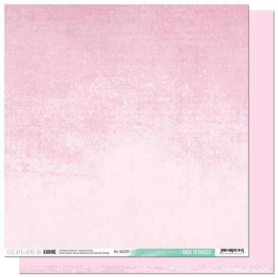 Back to basics - Carnet de route - Rose pastel