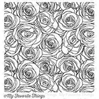 Cling Stamp - Roses