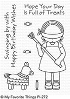 clear stamps - Birthday Pinata