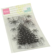 Clear stamp - Christmas tree