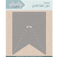 Die - Card Deco Essentials - Fishtail label perced