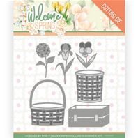 Die - Welcome Spring - Spring basket