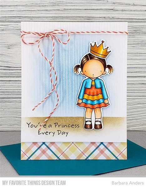 Clear Stamps - Birthday Girl