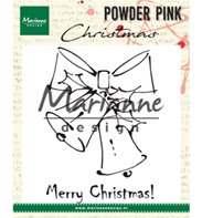 Tampons transparents - Powder Pink -Christmas