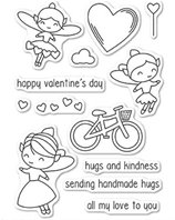 Clear Stamps - Valentine Fairies