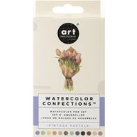 Watercolor Confections - Vintage Pastels