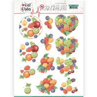 Papier 3D - Well Wishes - Fruits