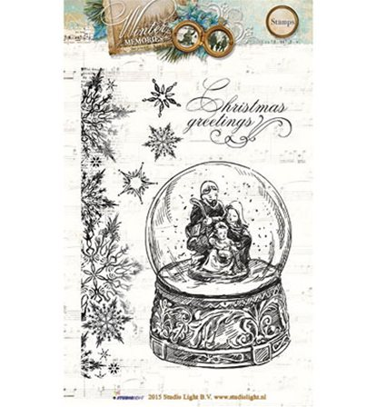 Clear Stamps - Winter Memories