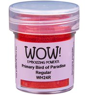 Wow! Embossing Powder - Primary bird of paradise