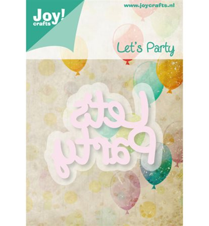 Cutting & Embossing - Let's Party