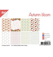 A4 Paper Set - Autumn bloom