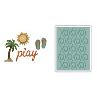 Thinlits & Embossing Folder - Beach