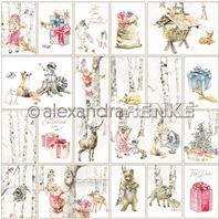 Papier - Christmas Kids - Card Sheet Animals
