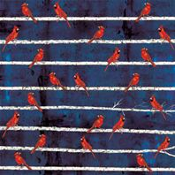 Papier - Winterbirds - Cardinal great rapport