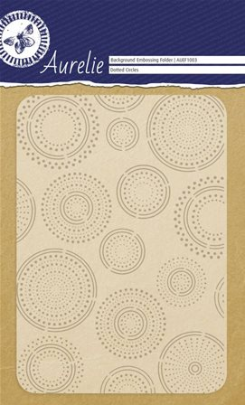 Embossing Folder - Dotted Circles