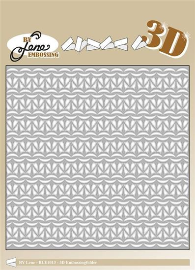 Embossing Folder 3D - Tricot