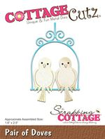 Cottage Cutz - Pair of Doves