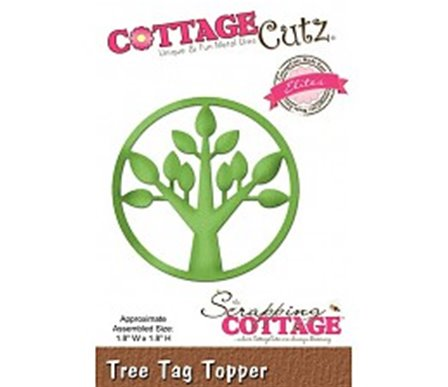Cottage Cutz - Tree Tag Topper