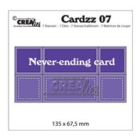 Crealies - Cardzz - Never Ending Card
