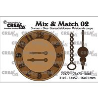 Mix and Match -Clock