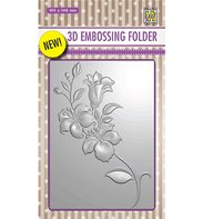 3D Embossing Folder - Branch with Flowers