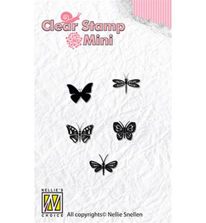 Clear Stamp Mini - Butterflies