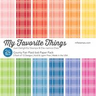Country Fair Plaid Paper Pack