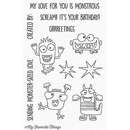 Clear Stamp - Monster Sized