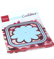 CreaTables - Square box & flower