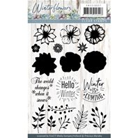 Clear Stamps - Winter Flowers