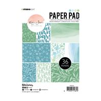 Paper pad - Blooming blue