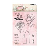 Clear Stamp - Lovely Moments - 388