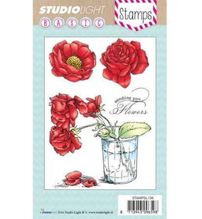 Clear Stamps - Flowers