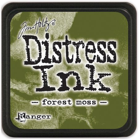 Mini Distress Pad - Forest Moss