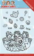 Clear stamp - Tea Party