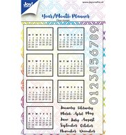 Clear Stamp - Year/Month Planner