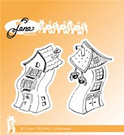 Clear Stamps - Crooked Houses 1