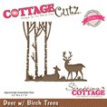 Cottage Cutz - Deer and Birch Trees