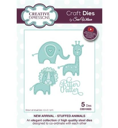 Craft Dies -New Arrival - Stuffed Animals
