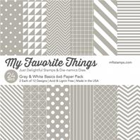 Gray & White Paper Pack