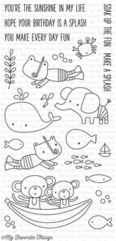 Clear Stamps - Soak up the Fun