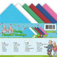 Lot de cartes A5 - Funky Nanna & Grandpa