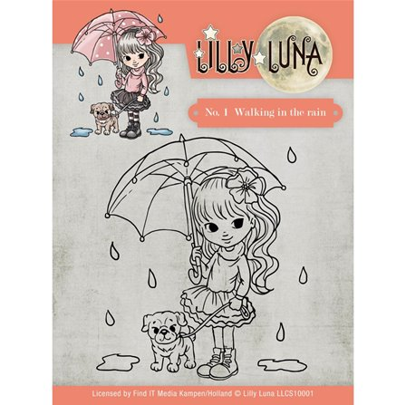 Clear Stamps - Walking in the Rain