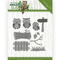Die- Amazing Owls - Owl family